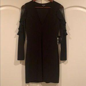 Black ladies Express dress